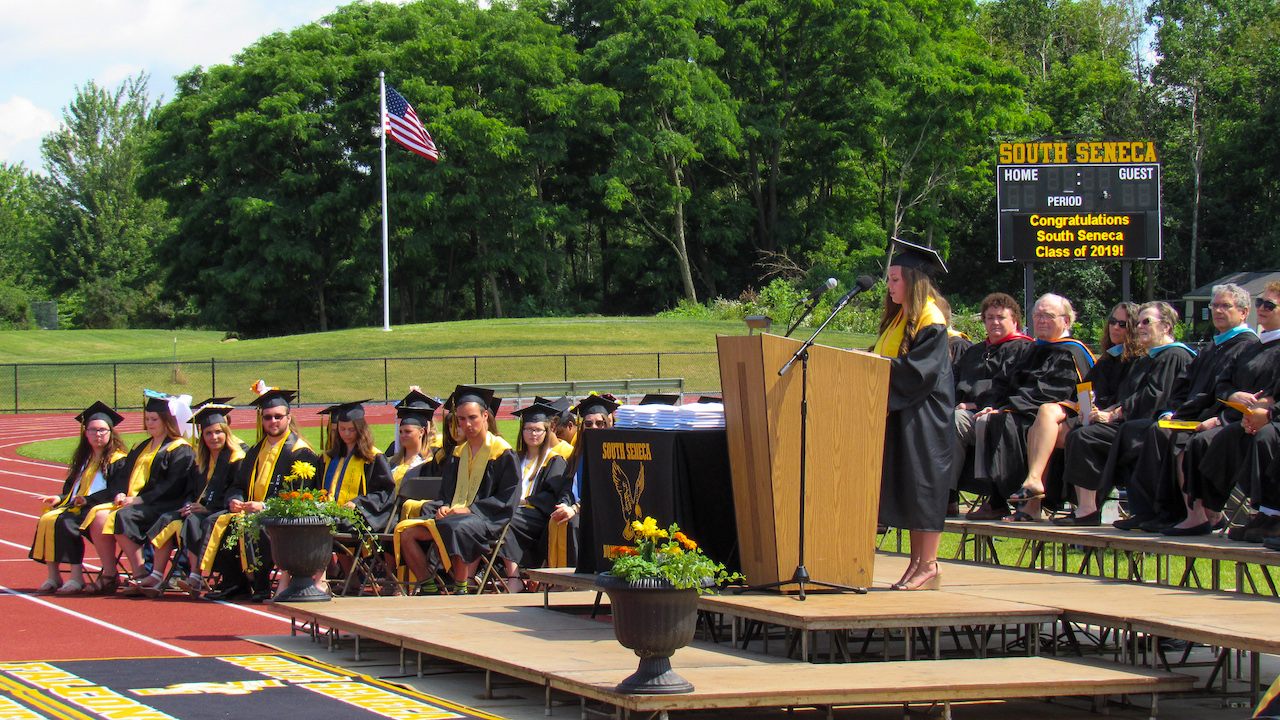 GALLERY: South Seneca Class of 2019 takes flight at graduation
