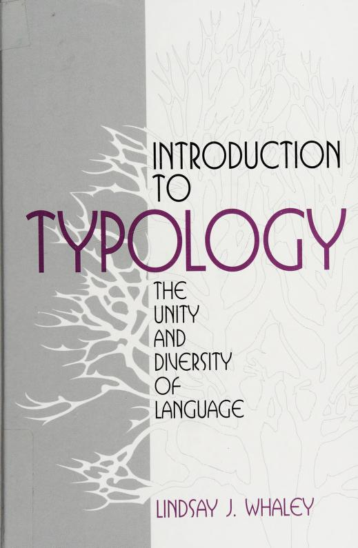 Introduction to Typology by Lindsay J. Whaley