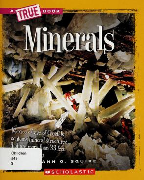 Cover of: Minerals | Ann Squire