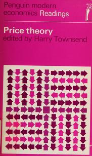 Cover of: Price theory | Harry Townsend